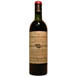 Chateau Pape Clement rouge 1966