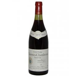 "Charmes Chambertin Grand Cru ""Cuvée Prestige"" 0,75l 1977"
