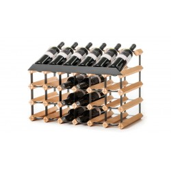 Pultový stojan na víno na 24 lahví