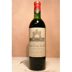 Chateau Leoville Las Cases 1968 0,75 l