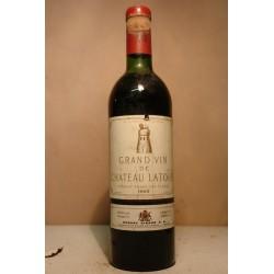 Château Latour 1968  vino rovnik 0,75
