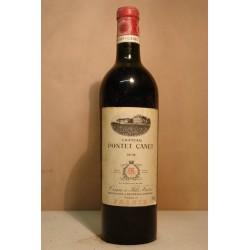 Château Ponet-Canet 0,75l 1938  Ročníkové víno 1938