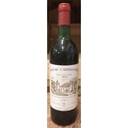 Chateau Carbonnieux rouge 0,75l 1976
