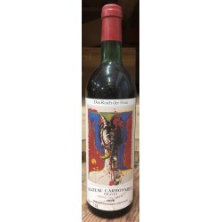 Chateau Carbonnieux rouge 0,75l 1976 (etiketa Paul Cartier)