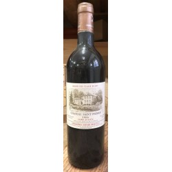 Chateau Saint Pierre 0,75l 1986